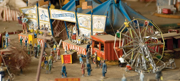 Pioneer Auto Show Vintage circus toys Photo credit Travel South Dakota