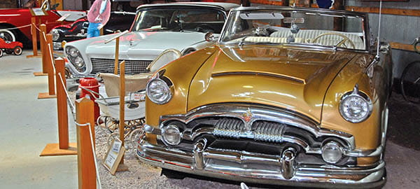 Pioneer Auto Show 1953 Packard Caribbean Convertible Photo credit Travel South Dakota