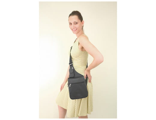 Travelon Messenger Style Shoulder Bag Messenger Style Shoulder