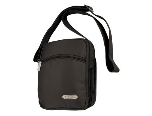 Travelon Three Compartment Expandable Shoulder Bag 116